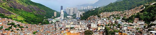 Favela da Rocinha no Rio